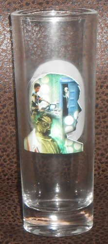 DOCTOR WHO – THE 5TH DOCTOR – 50th Anniversary – 2oz Color Changing Shot Glass