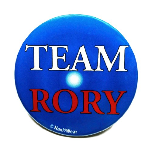 Doctor Who Button: Companion 'Team Rory'