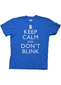 DR. WHO — KEEP CALM AND DONT BLINK — MENS TEE (XLarge)