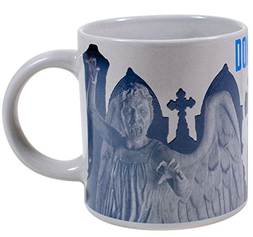Dr. Who Weeping Angel Mug – Transforms When You Pour In Hot Liquid