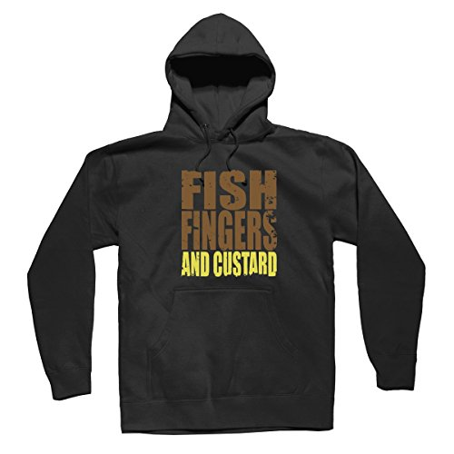 Fish Fingers Custard Dr Who Mens & Womens Graphic Cheap Hoodies Sweater