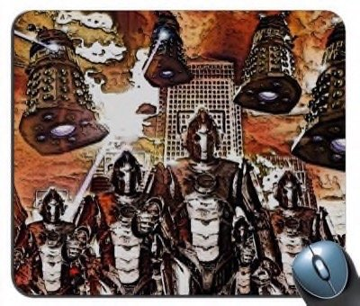 Cybermen and Daleks Doctor Who – Collector Series V44 Mouse Pad