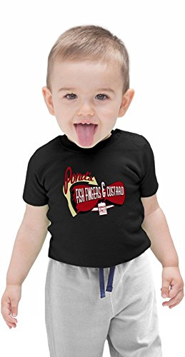Fish Fingers & Custard Organic Baby T-shirt 12 – 18 Months