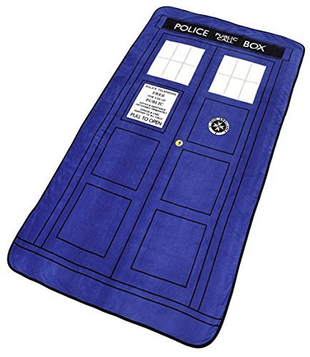 Doctor Who: Large Doctor Who TARDIS Micro Raschel Throw