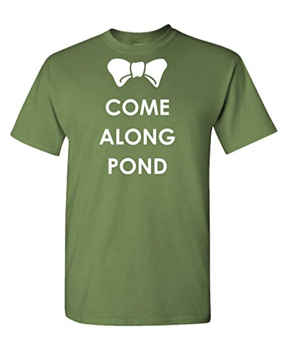 COME ALONG POND – the doctor amy rory Tee Shirt T-Shirt, M, Military