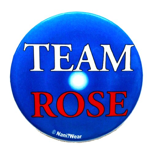 Doctor Who Button: Companion 'Team Rose'