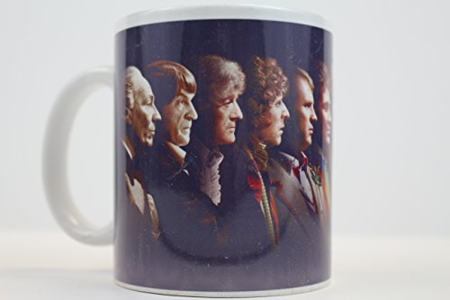 Doctor Who Faces 11oz Ceramic Coffee Mug