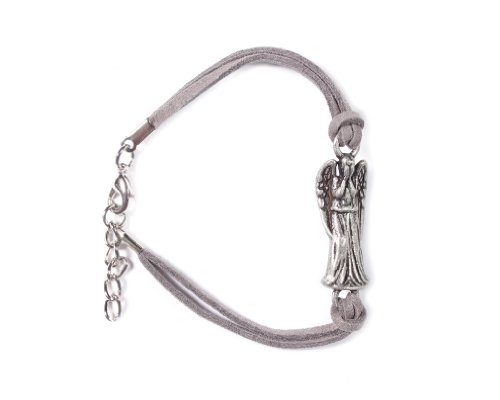Doctor Who Weeping Angel Wrap Cord Bracelet