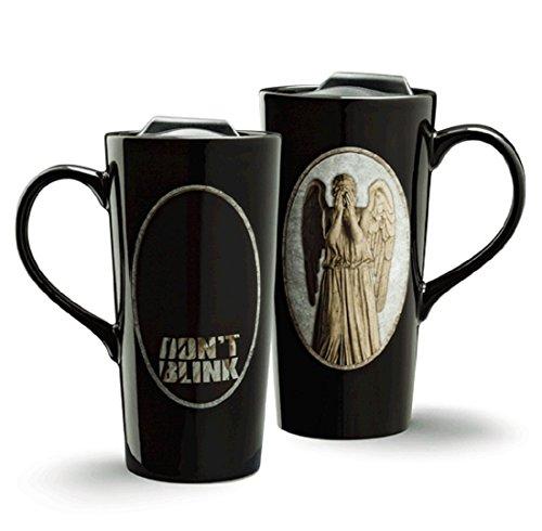 Doctor Who Weeping Angel Heat Change 20oz Ceramic Travel Mug