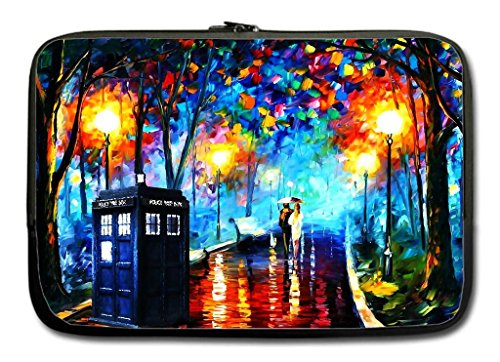 Twin Sides 13-13.3 Inch Sleeve Bag Fits Most Laptop and Macbook With Doctor Who Design
