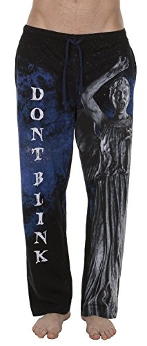 Doctor Who Weeping Angel Men's Lounge Pants, X-Large