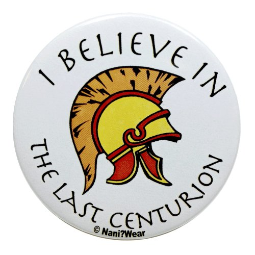 Nani?Wear Rory Williams 2.25 Inch Geek Button: I Believe in the Last Centurion