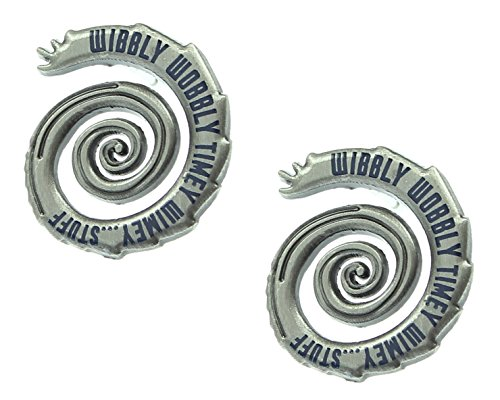 Doctor Who Wibbly Wobbly Timey Wimey Stud Earrings