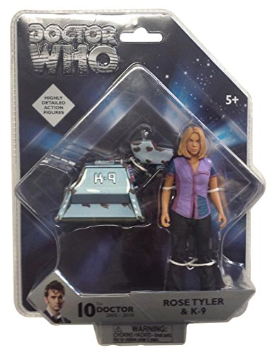 Underground Toys Doctor Who 5.5″ Rose & K9 Action Figure Set (2 Pack)