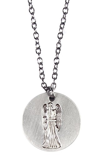 Doctor Who Don't Blink Weeping Angel Pendant Necklace w/18″ Chain