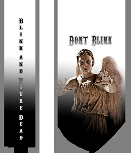 2016 Arrival – Dont Blink Weeping Angels Neck Tie – The Doctor Tardis Whovians LOOK!
