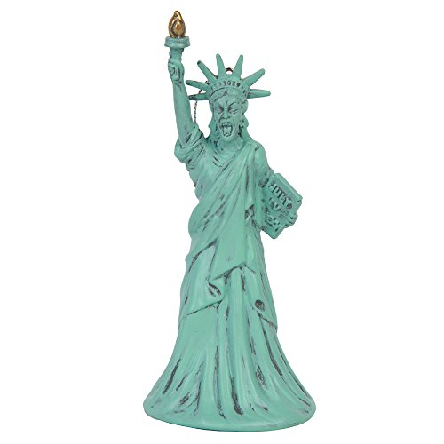 Doctor Who Weeping Angel Statue of Liberty Blow Mold Christmas Ornament