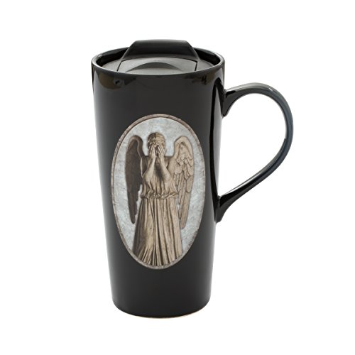 Vandor Doctor Who Weeping Angel Heat Reactive Ceramic Travel Mug (54812)