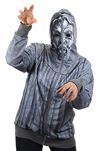 elope Doctor Who Weeping Angel Small Zip Up Hoodie